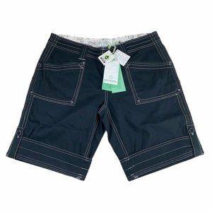 Aventura Womens Arden V2 Shorts Black Stretch New